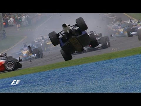 Your Favourite Australian Grand Prix - 2002 First Corner Drama & Webber's First Points