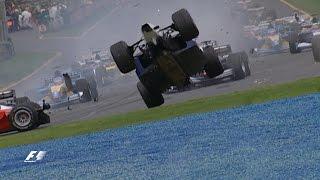 Your Favourite Australian Grand Prix - 2002 First Corner Drama & Webber