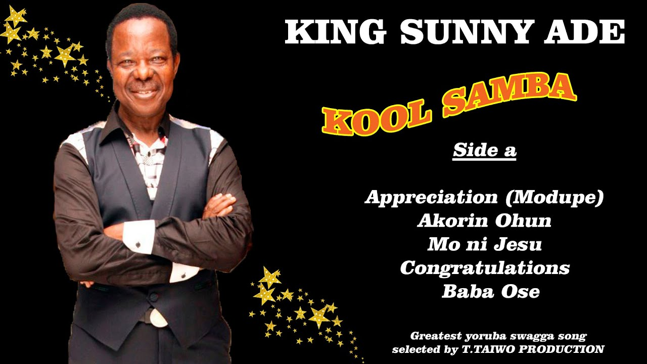 KING SUNNY ADE-APPRECIATION (KOOL SAMBA ALBUM)