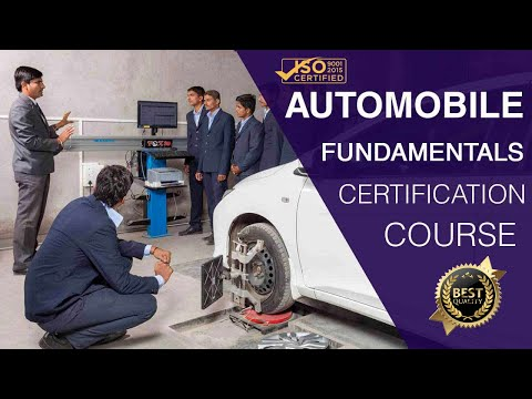 Fundamentals of Automobile Engineering Course - Promo Video | DIYguru