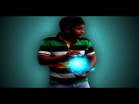 Adobe photoshop cs6 Bangla tutorial(HOW TO CREATE ENERGY BALL)-:এনার্জি বল তৈরি করুন