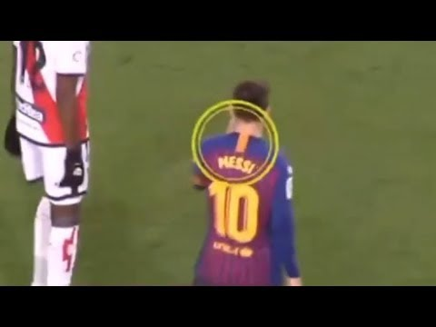 Leo Messi recognized that it was 'not a penalty' during game against Rayo Vallecano