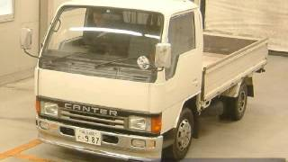 1990 MITSUBISHI CANTER TRUCK  FB308B(For more info on this car or other JDM cars join our forums for free at http://forums.jdmvip.com or visit our main site http://jdmvip.com., 2016-01-11T18:55:03.000Z)