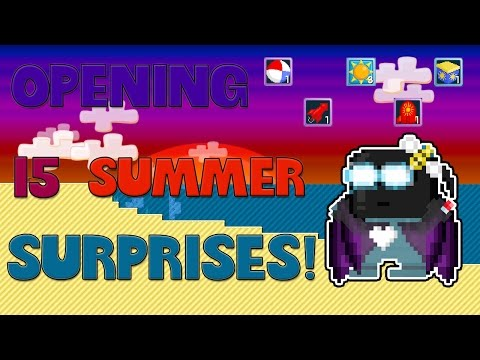 Growtopia | Buying 15 Packs for SummerFest 2016!