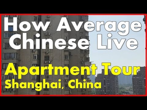 How Average Chinese Live – Tour Shanghai Apartment + Night Walk | China With Kids