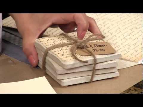 DIY Project: Custom Coasters