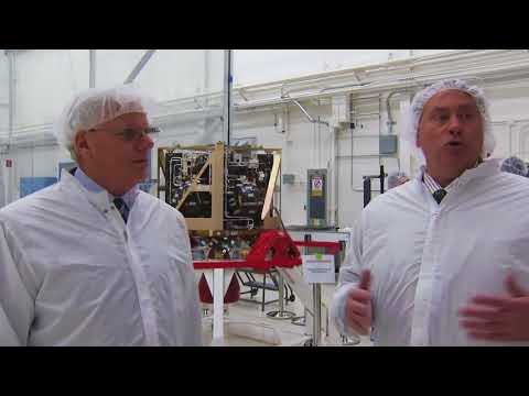 LADEE Propulsion System Handover to Ames Research Center
