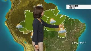 Previsão Norte – Várias pancadas de chuva em RR