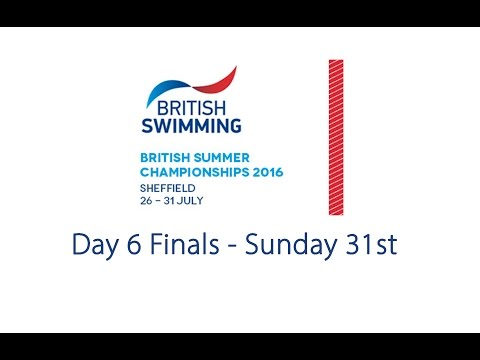 Day 6 Finals - British Summer Championships 2016