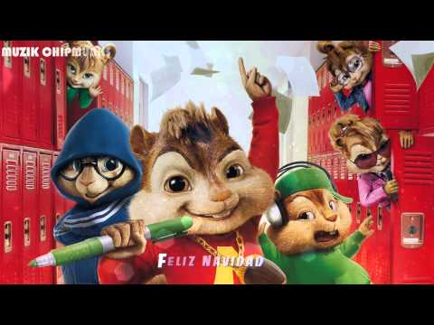 Feliz Navidad (Chipmunks) || Best Christmas song 2015