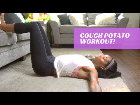 How To Workout From Your Living Room (couch Potato): WITHOUT WEIGHTS