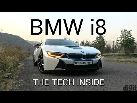Bmw I8 The Tech Inside Digit In Youtube