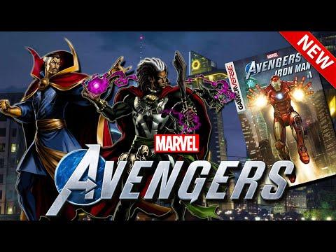 Marvel's Avengers Game   Doctor Strange EXIST in Marvel's Avengers !! New Prequel Novel & Comic Book