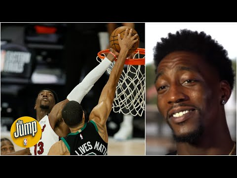 Bam Adebayo on the Jayson Tatum block: Two of my fingers went numb | The Jump
