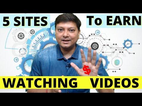 Earn Watching Video - 5 Best Websites To Make Money Online Watching Videos ( Real Earning Methods)