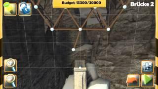 Bridge Constructor - Bridge 2 - The Ridge - Walkthrough