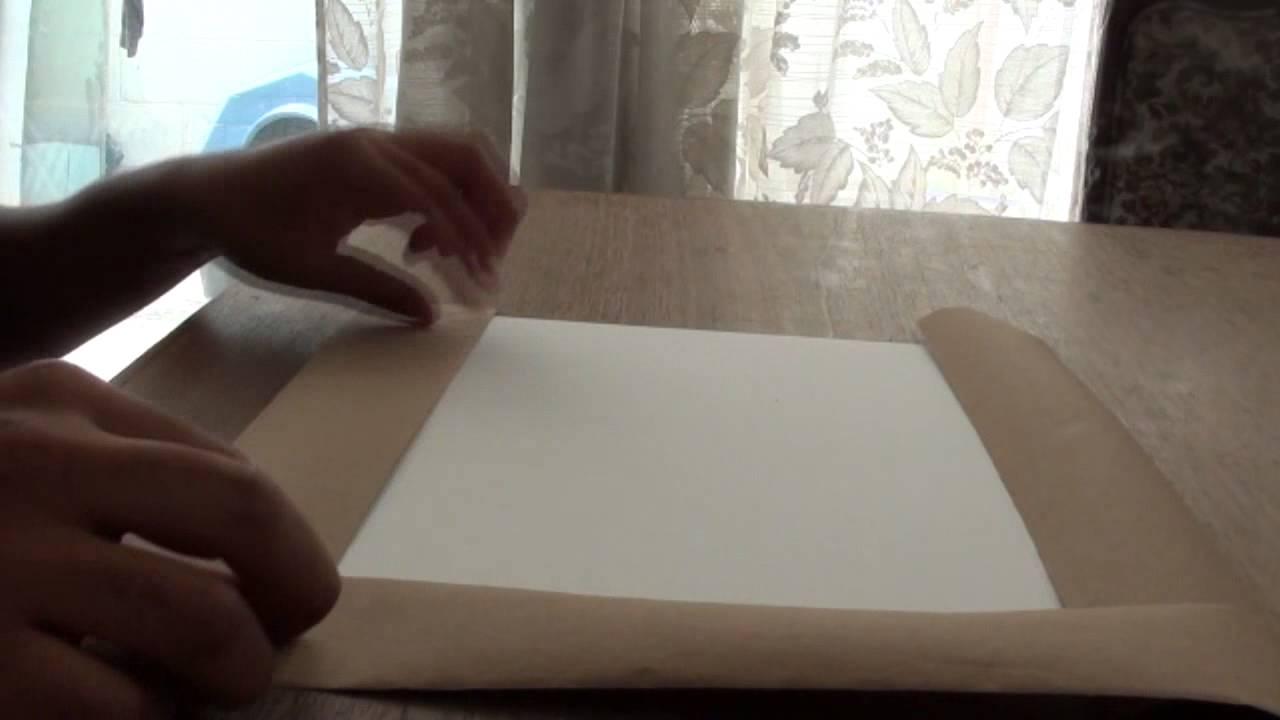 Tutorial para preparar el papel para pintar a la acuarela youtube - Papel de pared para pintar ...