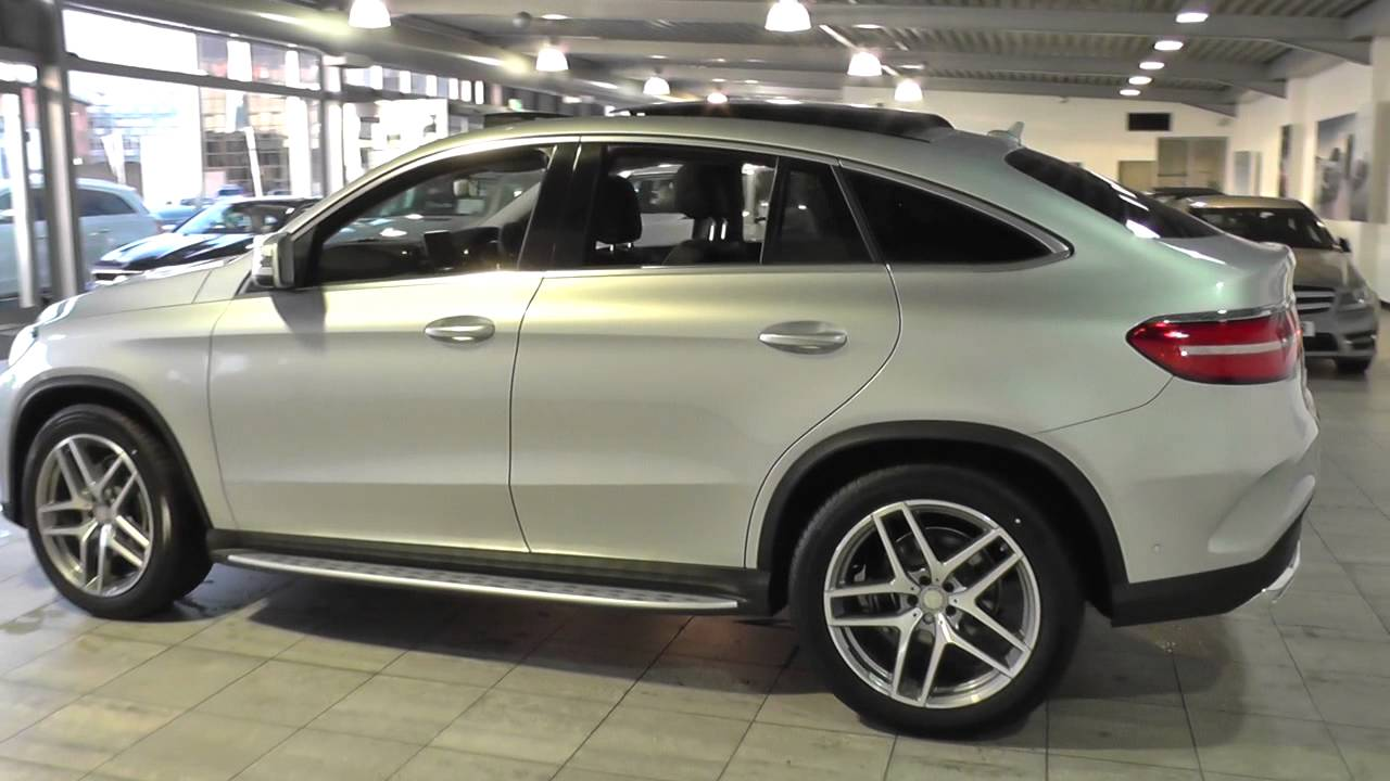 mercedes benz gle coupe gle 350 d 4matic amg line premium 5dr 9g tronic u44353 youtube. Black Bedroom Furniture Sets. Home Design Ideas