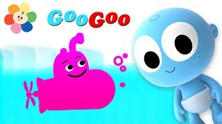 Learn COLORS with Vehicles | Color Vehicles for Kids | Googoo Learning Videos on BabyFirst
