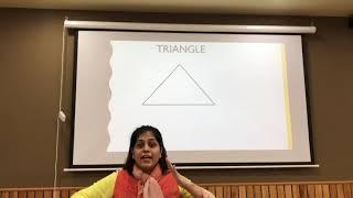 learning triangle shape