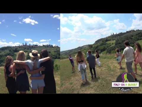 Grape Escape winery tour official video with Italy on a Budget tours