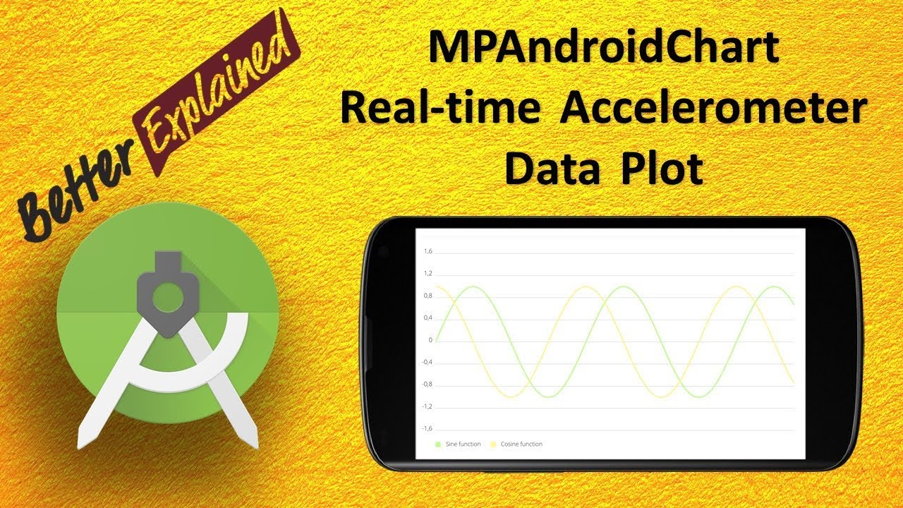 Real Time Accelerometer Data Plot in Android using MPAndroidChart Library