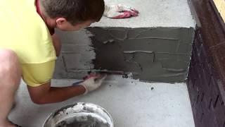 Как сделать цоколь своими руками