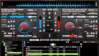 VIRTUAL DJ 7  mixando 2 musicas