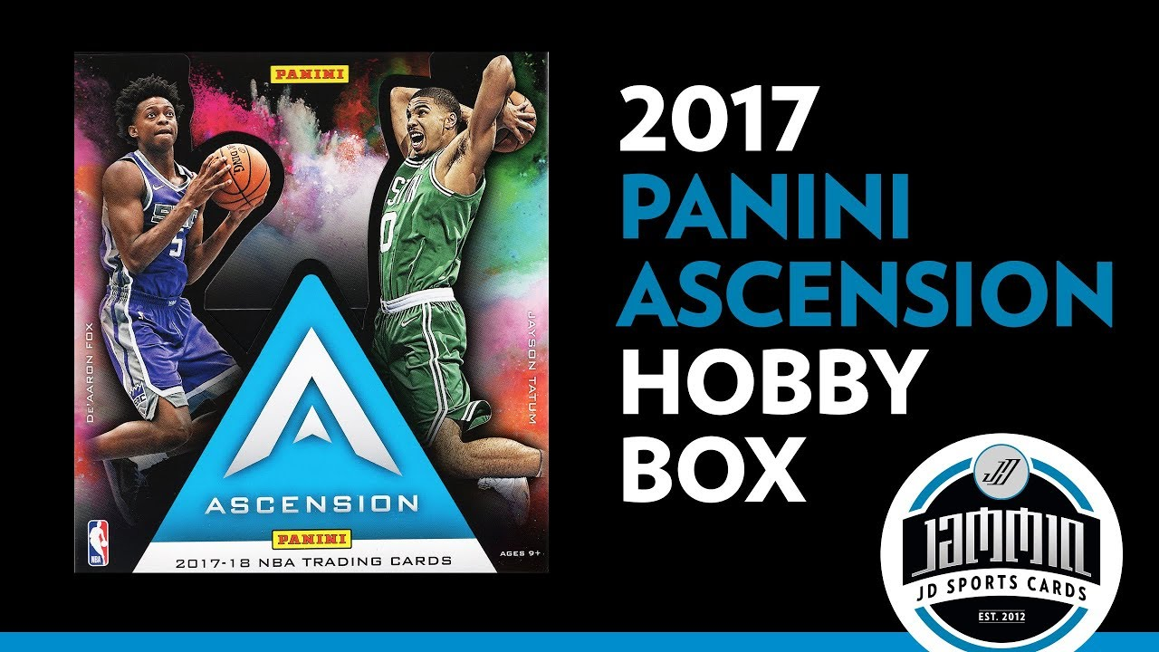 f4aed2bd1a6 2017 18 Ascension Basketball Hobby Box Break - YouTube