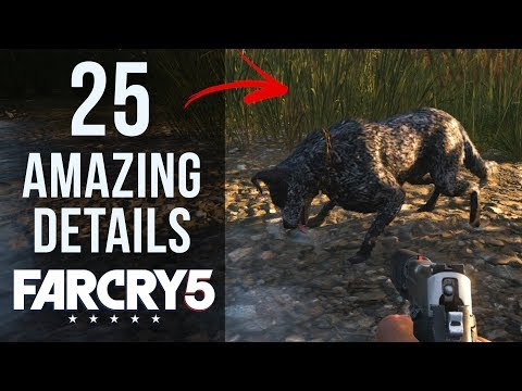 25 AMAZING Details in Far Cry 5
