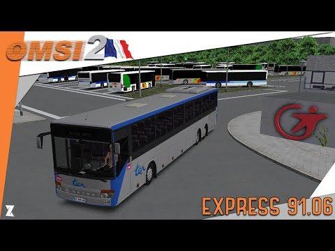 🚌OMSI 2 | Express 91.06 en Setra S319UL ? Un pur plaisir !