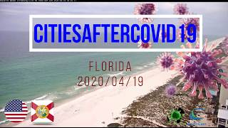 Cities After Covid 19 (Corona Virus - lockdown) 2020.04.19 - US Florida
