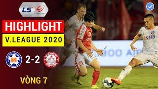 Highlight | TP Hồ Chí Minh 2-2 SHB Đà Nẵng |  V.League 2020 | Công Phượng bị thay ra, HCM chia điểm