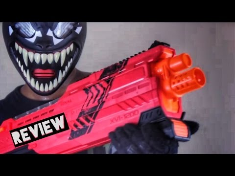 Download [REVIEW] Nerf Rival Atlas Unboxing, Review, and Firing Test ( New Nerf Rival Shotgun Blaster 2016)
