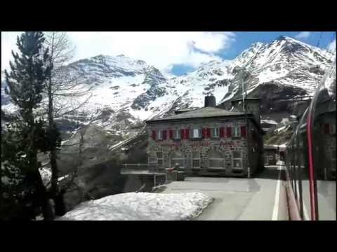 Bernina Express from Tirano to Chur 06/05/2016