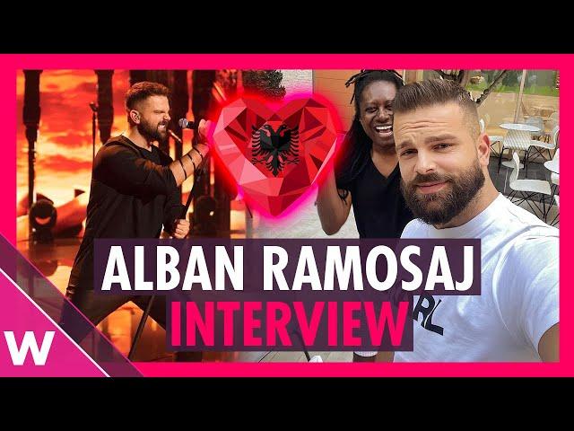 Alban Ramosaj: Kënga Magjike 2021 winner on Eurovision and FiK dreams