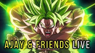 DBS Broly Trailer 3 Livestream w/ Geekdom101, TotallyNotMark, Blackenfist & MORE!