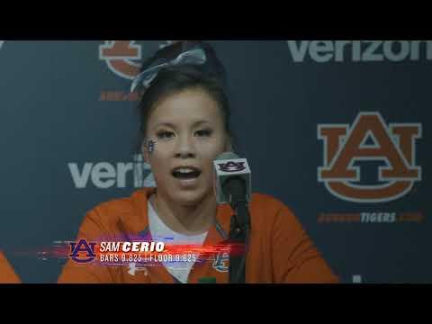 Van Riggs - Auburn Gymnastics defeats #6 Georgia