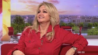 Bonnie Tyler on BBC Breakfast - 15 April 2019