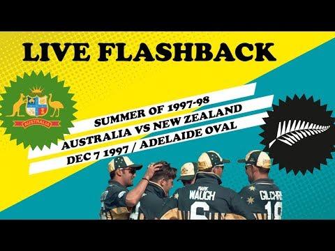 LIVE Flashback: Australia V New Zealand, Dec 7 1997
