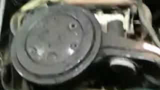 Essaie moteur Lancia spider