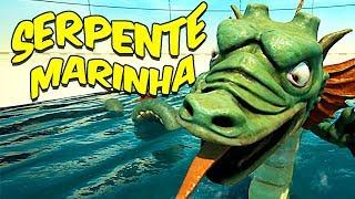ENFRENTANDO A SERPENTE MARINHA | Rock of Ages 2 #5