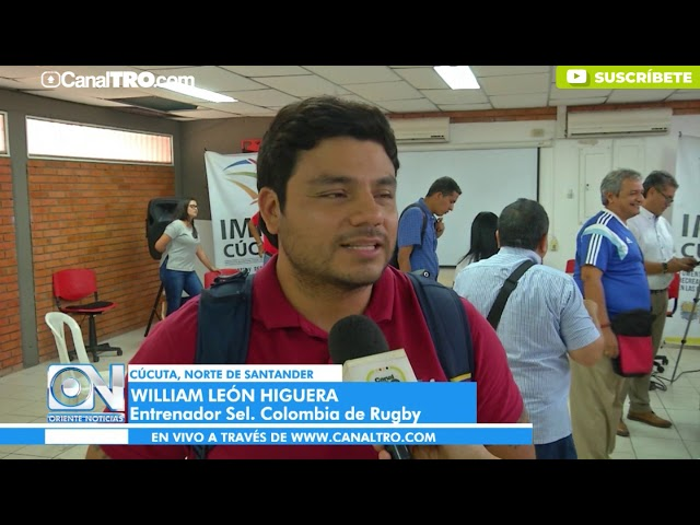 El cucuteño William León dirigirá la Selección Colombia de Rugby Sub 20
