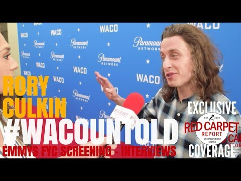 Rory Culkin, David Thibodeau, interviewed at Paramount Network's #WACOuntold FYC Screening #Emmys