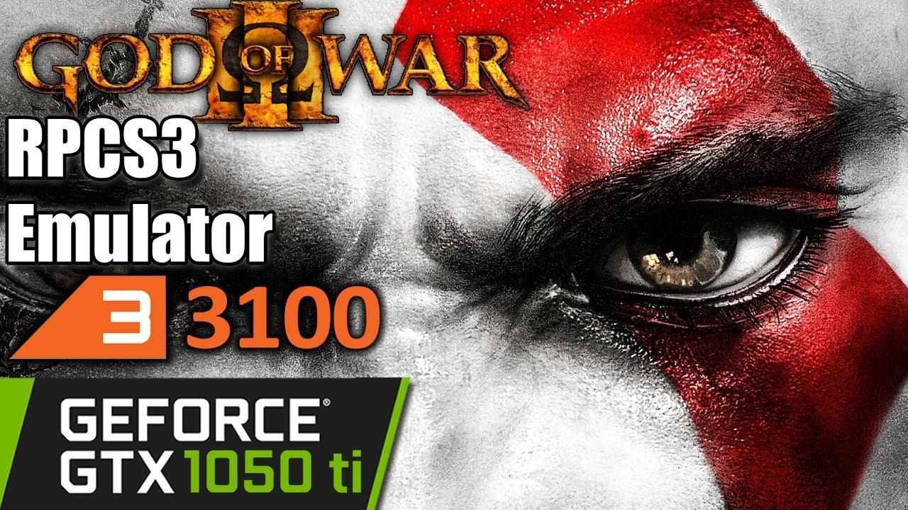 God Of War 3 RPCS3   Ryzen 3 3100   GTX 1050 ti   PS3 Emulator PC Performance Test