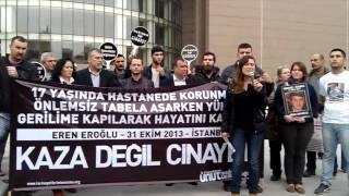 Eren Eroğlu Davası 2. Duruşması Sonrası Basın Açıklaması