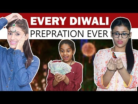 Every Diwali Preparation Ever | SAMREEN ALI