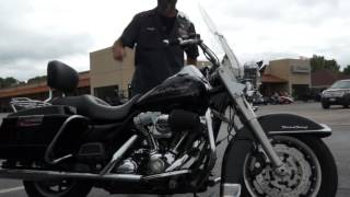 2008 halrey davidson road king kuryakyn led and vance hines upgrades