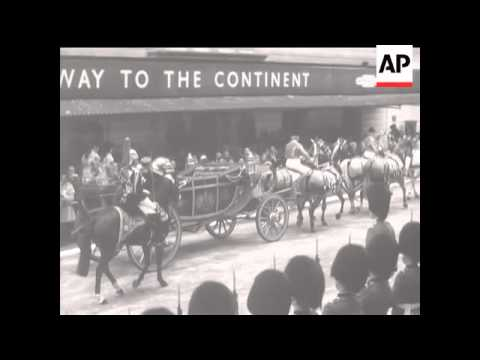 Luxembourg State Visit - 1972