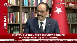 Cumhurbaşkanlığı Sözcüsü İbrahim Kalın A Haber'e Önemli Açıklamalarda Bulundu! / A Haber